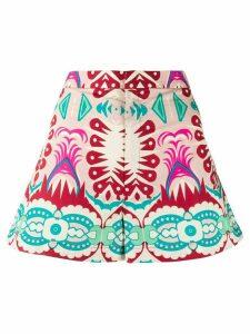 Le Sirenuse geometric print shorts - PINK