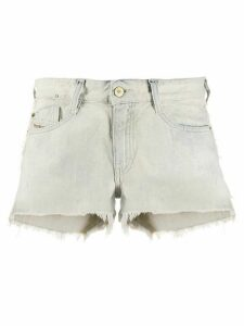 Diesel frayed denim shorts - Blue