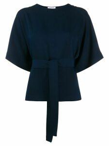 P.A.R.O.S.H. tie waist blouse - Blue
