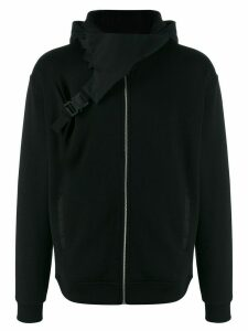 1017 ALYX 9SM Simulation zip front hoodie - Black