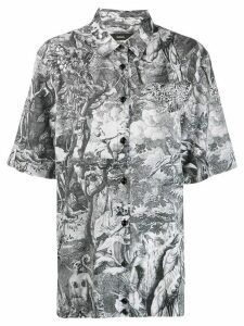 Diesel Divine Comedy print shirt - Black