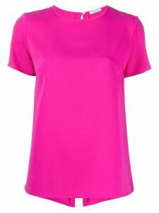 P.A.R.O.S.H. back slit blouse - PINK