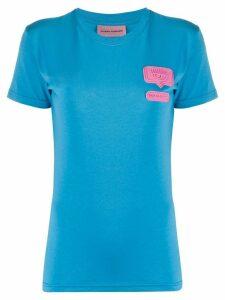 Chiara Ferragni eyelike crew neck T-shirt - Blue