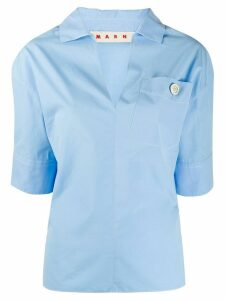 Marni V-neck shirt blouse - Blue
