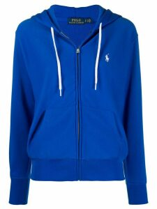 Polo Ralph Lauren embroidered logo zip-up hoodie - Blue