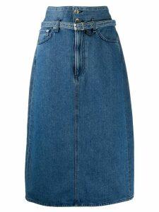 Rag & Bone A-line denim skirt - Blue