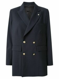 Toga double breasted oversized blazer - Blue