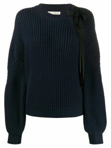 Ulla Johnson Thalia balloon sleeved jumper - Blue
