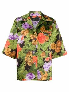 Richard Quinn Hawaiian print short sleeve shirt - Green