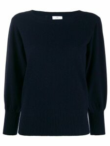 Allude round neck jumper - Blue