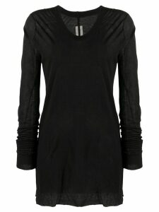 Rick Owens V-neck jumper - Black