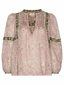 Isabel Marant Étoile prairie style blouse - PINK