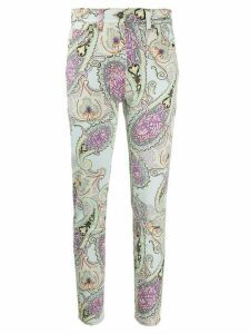 Etro high rise skinny jeans - Blue