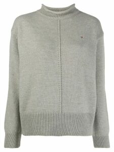 Tommy Hilfiger roll neck jumper - Grey