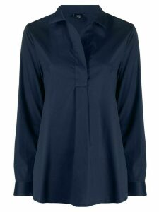 Fay long-sleeve blouse - Blue
