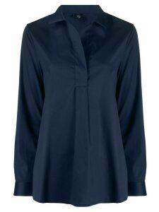 Fay long-sleeve blouse - Blue