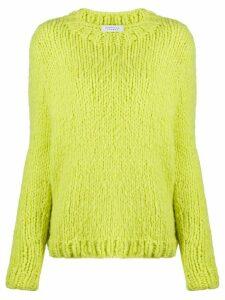 Gabriela Hearst chunky cashmere jumper - Green