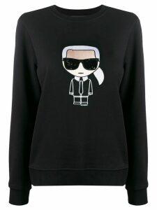 Karl Lagerfeld Ikonik Karl sweatshirt - Black