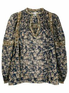 Isabel Marant Étoile floral print blouse - Blue