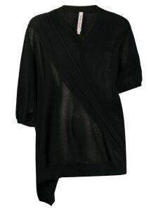 Antonio Marras asymmetric jumper - Black