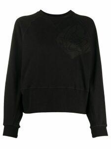 Vivienne Westwood Anglomania logo stamp sweatshirt - Black