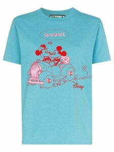 Gucci x Disney Mickey print T-shirt - Blue