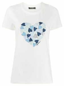 Twin-Set heart print T-shirt - White