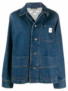 A.P.C. oversized denim jacket - Blue
