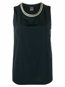 Lorena Antoniazzi sleeveless tank blouse - Blue