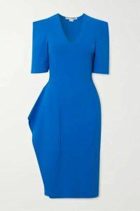 Stella McCartney - Ruffled Stretch-knit Dress - Blue