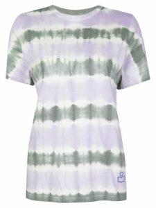 Isabel Marant Étoile Dena tie dye T-shirt - PURPLE