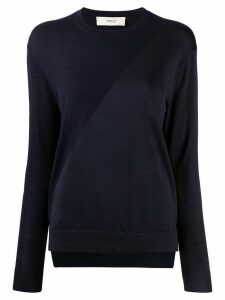 Pringle of Scotland two-tone crew-neck sweater - Blue