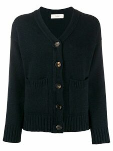Pringle of Scotland patch-pocket cardigan - Blue
