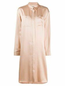 Maison Rabih Kayrouz oversized shirt dress - PINK
