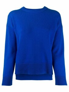 Pringle of Scotland dropped-shoulder sweater - Blue