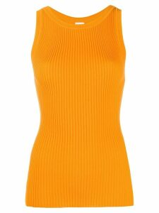 M Missoni ribbed tank top - ORANGE