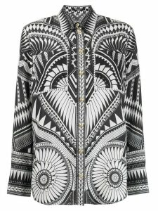 Balmain printed shirt - Black