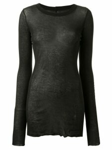 Rick Owens Forever Long Sleeve T-shirt - Black
