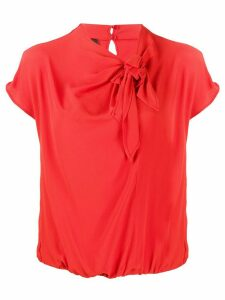 Pinko knot detail blouse - Red