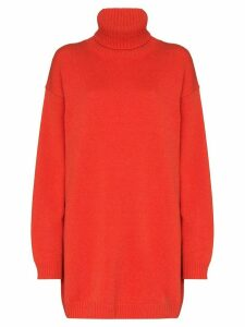 GAUGE81 oversized cashmere jumper - ORANGE
