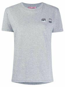 Chiara Ferragni flirting crewneck T-shirt - Grey