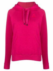 Isabel Marant Étoile logo stamp hoodie - PINK