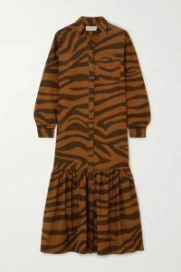 Mara Hoffman - + Net Sustain Freda Tiger-print Organic Cotton Maxi Dress - Brown