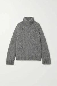 By Malene Birger - + Net Sustain Aleya Oversized Alpaca-blend Turtleneck Sweater - Gray