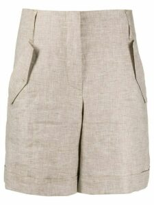Lorena Antoniazzi wide leg shorts - NEUTRALS