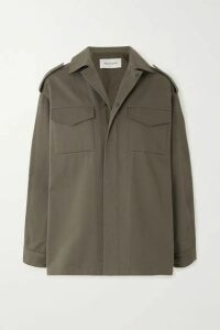 Valentino - Cotton-twill Jacket - Green