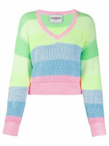 Iceberg striped regular-fit jumper - PINK