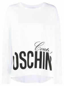 Moschino Moschino Couture print sweatshirt - White