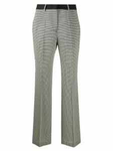 Golden Goose woven check tailored trousers - Black