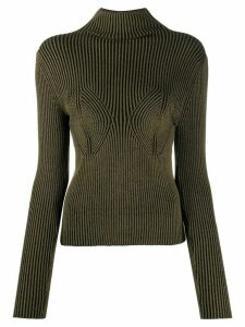 Mara Hoffman Mida roll neck jumper - Green